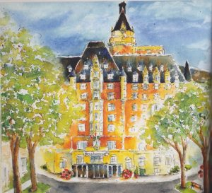 Bessborough Hotel - painting
