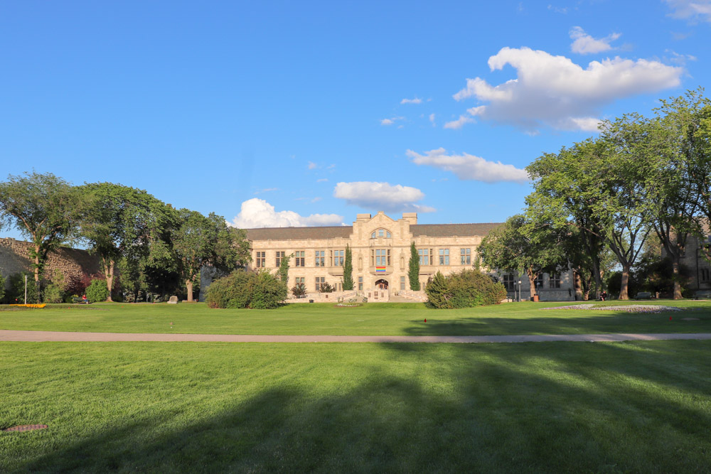 Education building at U of S campus