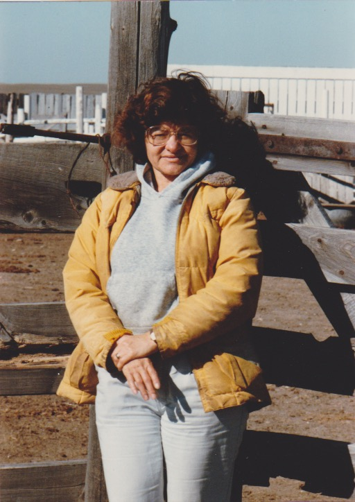 Photo of Sharon Butala at her ranch.